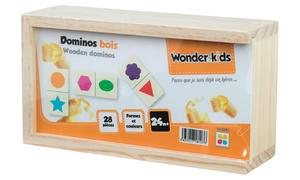 Coffret Dominos bois Wonder kids