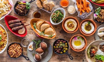 Menú para dos con surtido de entrantes, principal, postre y bebida desde 29,90 € en Ksara Restaurant