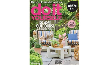 Do It Yourself Magazine Subscription for Six-Months or One-Year (Up to 56% Off)