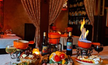 Up to 61% Off Romantic Fondue Dining at Geja's