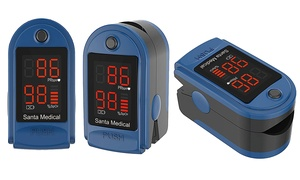 Santamedical Fingertip Pulse Oximeter with Carrying Case