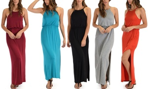 Lyss Loo Cherish the Day Women's Maxi Dress with Cinched Waist
