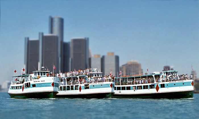 Diamond Jack's River Tours - Multiple Locations: Riverboat Tour on the Detroit River from Diamond Jack's River Tours (Up to 44% Value). Downtown & Wyandotte.