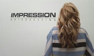Impression Hairdressing: Wassen en kleuren bij Impression Hairdressing vanaf 24 euro