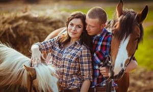 חוות גן עדן: חוות גן עדן: רכיבת סוסים בפרדסים ובשטחים הירוקים של קיבוץ נצר סירני ב-75 ₪ בלבד. תקף גם בשישי-שבת ובחגים