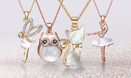 One or Two Neverland Sales Character Necklaces with Crystals from Swarovski® With Free Delivery