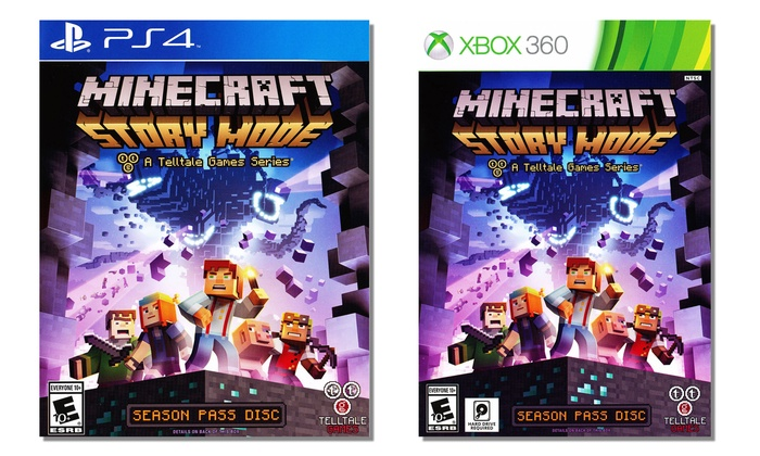 Minecraft Story Mode | Groupon Goods