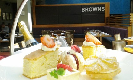 Afternoon Tea with Optional Prosecco or Champagne for Two at Browns at The Mere Resort