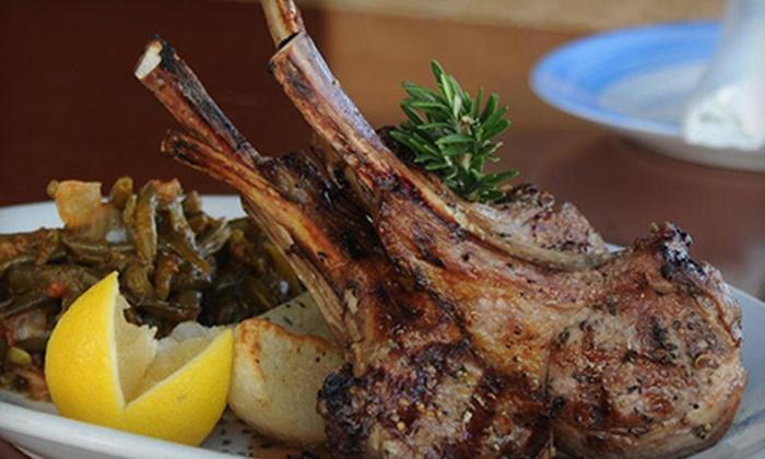 Taverna Opa - Mary Brickell Village: $15 for $30 Worth of Greek Food at Taverna Opa