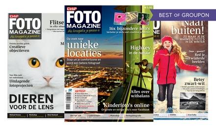Abonnement Chip Foto magazine, 5, 10 of 20 nummers, het abonnement stopt automatisch