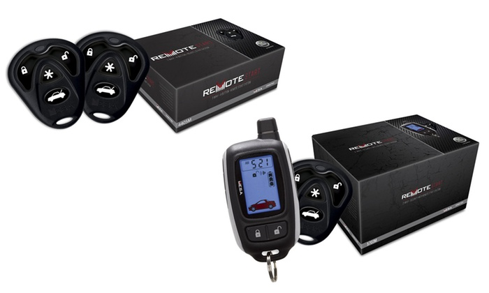 Remote Car Starter  Mach 1 Car Audio  Security  Groupon