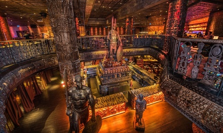 ThreeCourse Meal with Sparkling Cocktail for Up to Six at Shaka Zulu