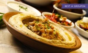White Camel: Kuchnia bliskowschodnia: menu degustacyjne i napój dla 2 osób za 68,99 zł i więcej opcji w restauracji White Camel