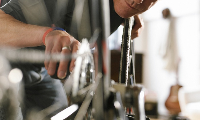 B & J Bicycles - Wellington Marketplace: In-Store Bike Tune-Up at B & J Bicycle Shop, Inc. in Wellington