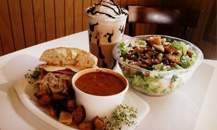 $18 for Three Groupons, Each Good for $10 Worth of Cafe Food at BCB Company ($30 Total Value)