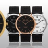 So & Co New York Madison Men's Leather Strap Watch