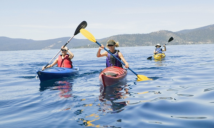 Young Harris Watersport - Young Harris: Two Single or Tandem Kayak Rentals or Two Paddleboard Rental at Young Harris Watersport (Up to 50% Off)