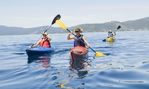 Es Náutica Motoracer: 2 horas de ruta en kayak de mar o stand paddle para 2, 4 o 6 personas desde 14,95 € en Es Náutica Motoracer