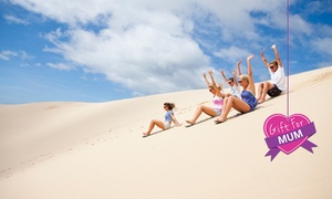 Port Stephens 4WD Tours: Sandboarding Experience for One ($19.50) or Ten People ($175) with Port Stephens 4WD Tours (Up to $280 Value)
