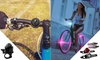 Bicycle Safety Front and Rear Lights and Bicycle Bell: Bicycle Safety Front and Rear Lights and Bicycle Bell