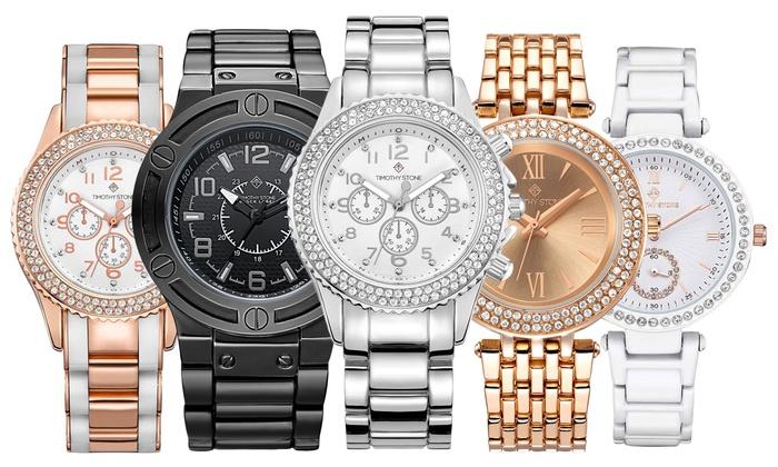 Relojes Timothy Stone con cristales Swarovski® | Groupon Goods