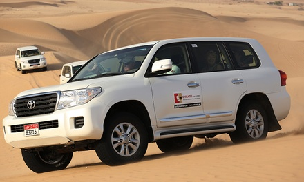 Exclusive Half-Day Safari Including 4x4 Pick Up, BBQ buffet & Belly Dancer from Emirates Tours & Safari (Up to 51% Off)