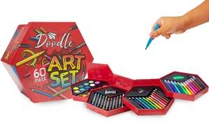 1 ou 2 sets de dessin 60 pièces Doodle