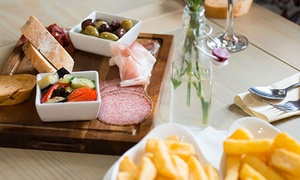 The Crown Inn: Two-Course Meal with Glass of Wine for Two or Four at The Crown Inn