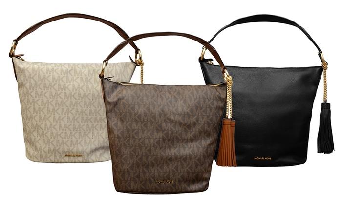 8f0d34e6758a Michael Kors Elana Large Convertible Shoulder Bag