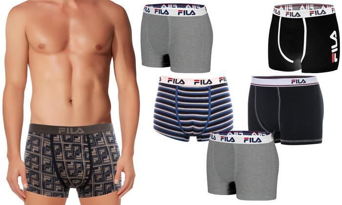 Pantaloncini da Uomo in Cotone Boxer Fila.