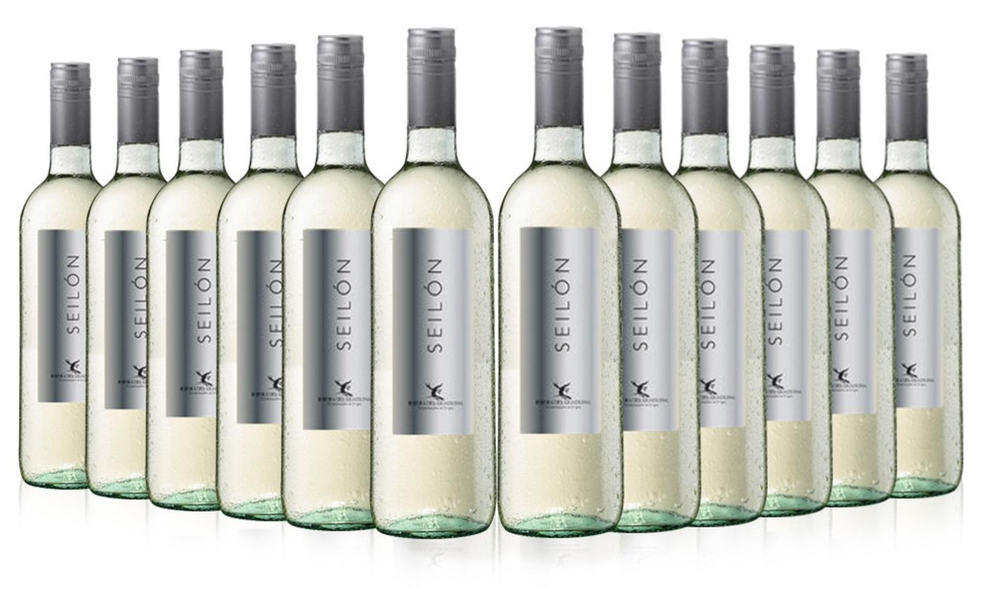12 Bottles of Seilon Blanco Spanish White Wine