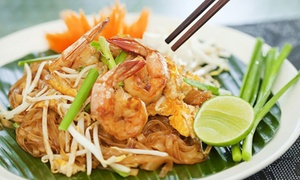 Tamra Siam: Thai Lunch with Soft Drink for One ($8), Two ($15) or Four People ($29) at Tamra Siam, Carlton (Up to $52 Value)