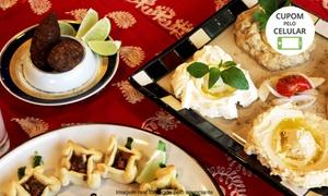 Restaurante Monte Líbano: Buffet árabe com entradas, pratos quentes, frios e sobremesa para 1, 2 ou 4 no Restaurante Monte Líbano – Auxiliadora
