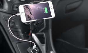 Universal 360-Degree Rotating Car Mount for Smartphones