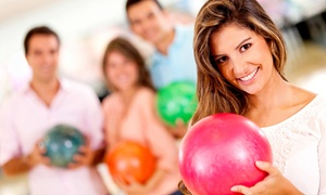 Bowling Corso Hellersdorf: 2 Stunden Bowling für Vier, Sechs od. Acht inkl. je 0,5 l Fassbier bei Bowling im CORSO Hellersdorf (bis zu 81% sparen*)