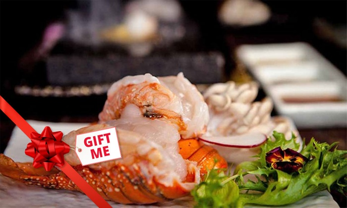 10-Course Lobster Indulgence Degustation (From $69) + Glass of Moët (From $88) at Kobe Jones (Up to $720 Value)
