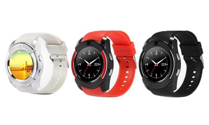 BAS-Tek V8 Smartwatch | Groupon Goods