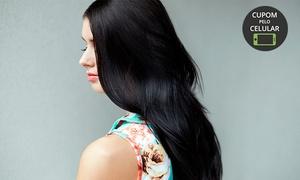 Estetic Hair: Estetic Hair - Tabuleiro do Martins: plástica dos fios + escova modeladora (opção com corte e hidratação)