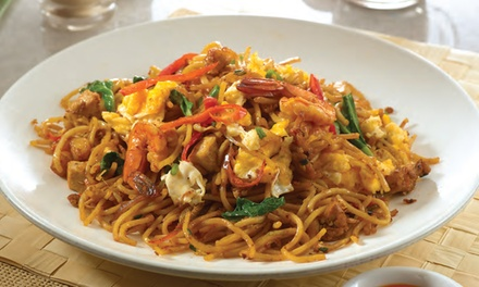 Malaysian Noodle or Rice Dish with Drink for One $14 or Two People $28 at Pak Hailam Kopitiam Up to $43.80 Value