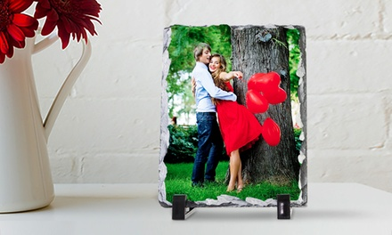 Personalised Photo Stone Slates in Choice of Size from Printerpix (Up to 62% Off)