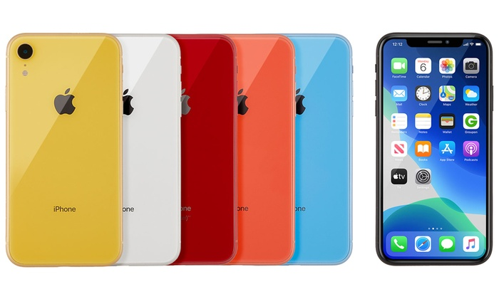 Apple Iphone Xr Xs Or Xs Max Unlocked Smartphone Ref A Grade Groupon