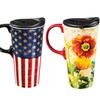 Ceramic Travel Coffee Cup (17 Oz.)