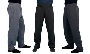 Maxxsel Oscar Sports Men's Sweatpants. Extended Sizes Available.