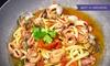 H2O - Peschiera Borromeo: Menu di pesce fresco con astice e bottiglia di vino per 2 persone al ristorante H2O (sconto fino a 74%)