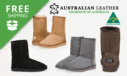 Free Shipping: $79 for a Pair of Australian Leather Classic 3/4 UGG Boots (Dont Pay $239)