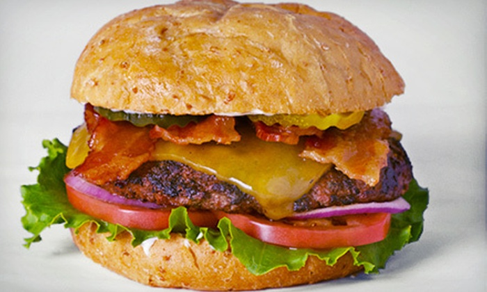 Fresh Grill - Beaverton: Burger Meal for Two or $7 for $15 Worth of Burgers, Sandwiches, and Fries at Fresh Grill