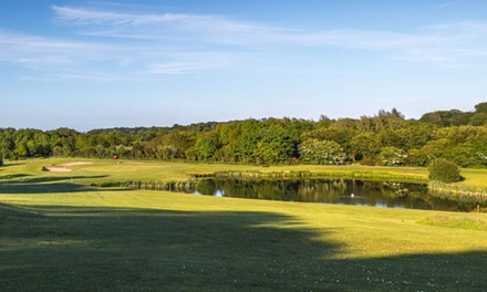 18 Holes of Golf with a Hot Drink for Two or Four at The Blackwood Golf Centre