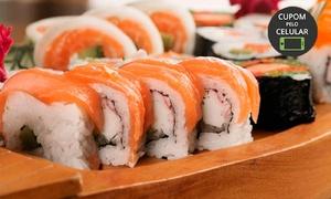 Ukai Sushi House: Ukai Sushi House - Gutierrez: combinado com 24 ou 48 peças