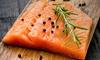 1 kg di salmone affumicato