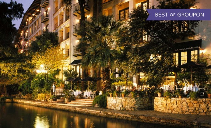 4-Star Omni Hotel on San Antonio River Walk